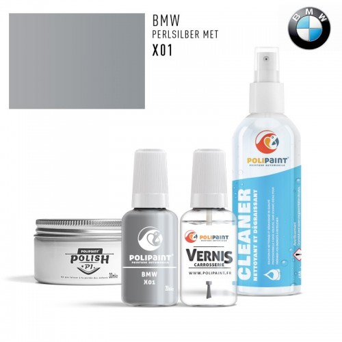 Stylo Retouche BMW X01 PERLSILBER MET