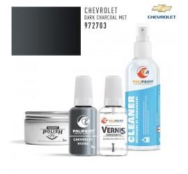 972703 DARK CHARCOAL MET Chevrolet