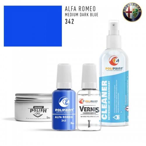 Stylo Retouche Alfa Romeo 342 MEDIUM DARK BLUE