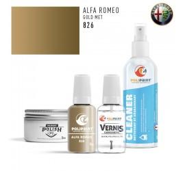 826 GOLD MET Alfa Romeo