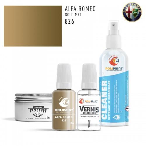 Stylo Retouche Alfa Romeo 826 GOLD MET