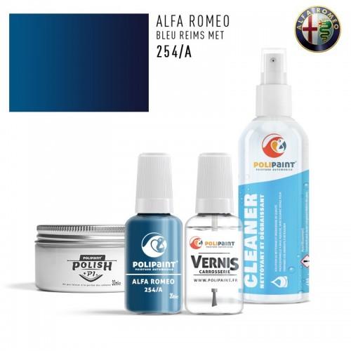 Stylo Retouche Alfa Romeo 254/A BLEU REIMS MET