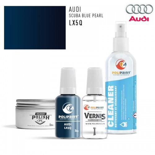 Stylo Retouche Audi LX5Q SCUBA BLUE PEARL