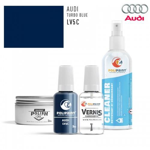 Stylo Retouche Audi LV5C TURBO BLUE