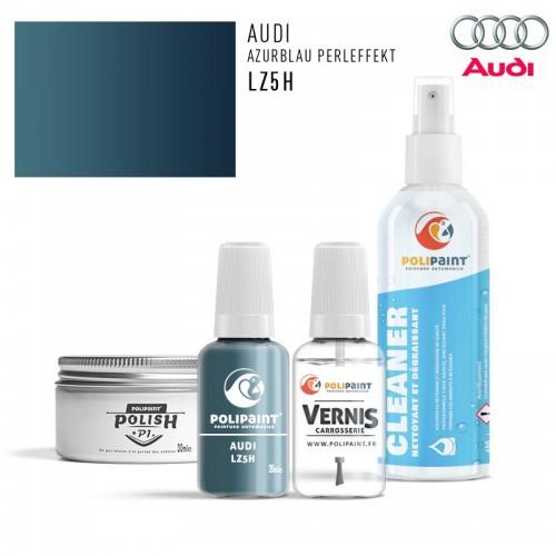 Stylo Retouche Audi LZ5H AZURBLAU PERLEFFEKT