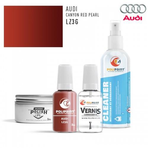Stylo Retouche Audi LZ3G CANYON RED PEARL