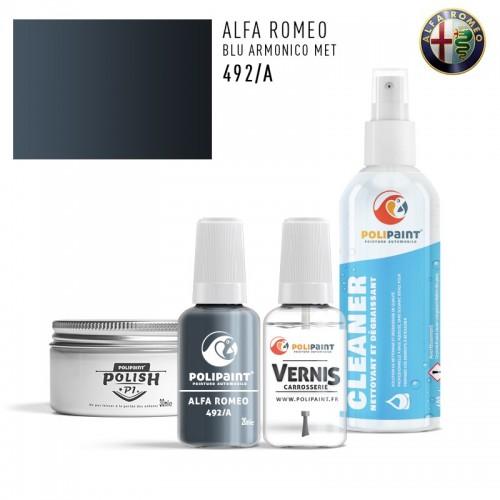 Stylo Retouche Alfa Romeo 492/A BLU ARMONICO MET