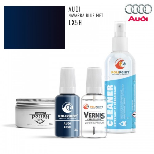 Stylo Retouche Audi LX5H NAVARRA BLUE MET