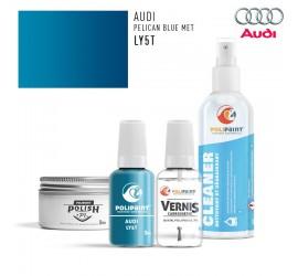 LY5T PELICAN BLUE MET Audi