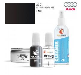 LY8U BELUGA BROWN MET Audi