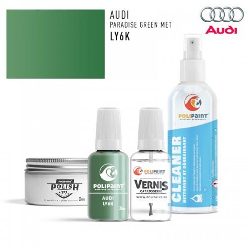Stylo Retouche Audi LY6K PARADISE GREEN MET