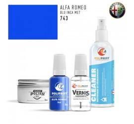 743 BLU INCA MET Alfa Romeo