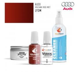 LY3M VOLCANO RED MET Audi