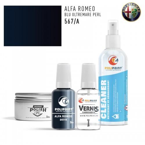 Stylo Retouche Alfa Romeo 567/A BLU OLTREMARE PERL