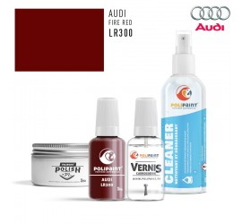 LR300 FIRE RED Audi