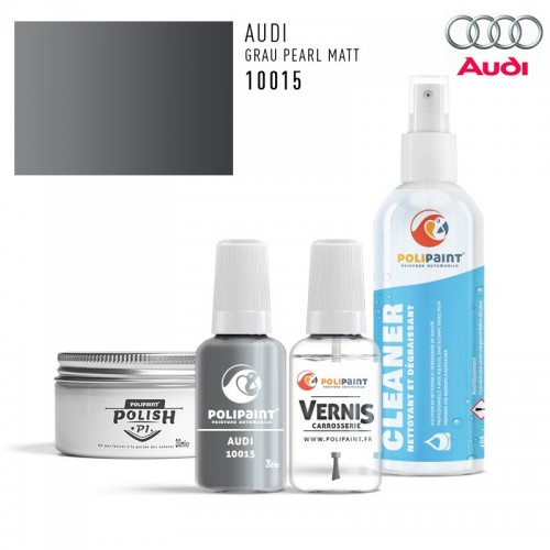 Stylo Retouche Audi 10015 GRAU PEARL MATT