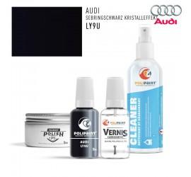 LY9U SEBRINGSCHWARZ KRISTALLEFFEKT Audi