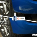 Stylo Retouche Audi LZ6H VERT RACING NACRE