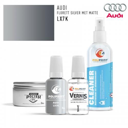 Stylo Retouche Audi LX7K FLORETT SILVER MET MATTE