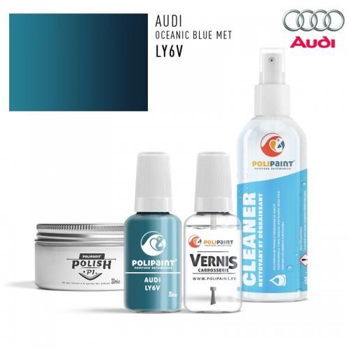 Stylo Retouche Audi LY6V OCEANIC BLUE MET
