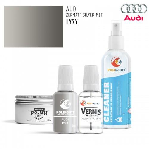 Stylo Retouche Audi LY7Y ZERMATT SILVER MET