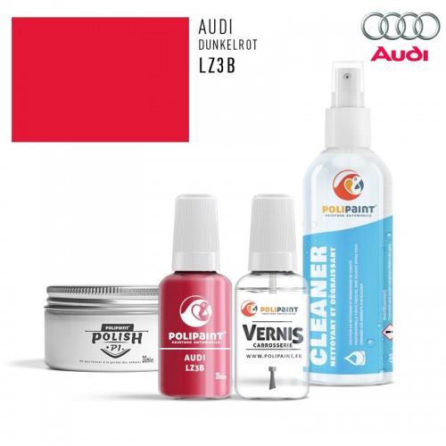 Stylo Retouche Audi LZ3B DUNKELROT