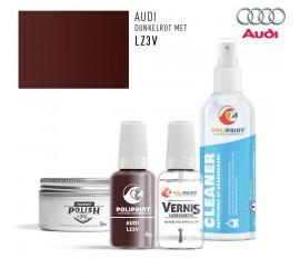 LZ3V DUNKELROT MET Audi