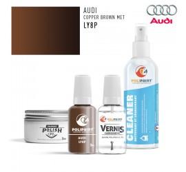 LY8P COPPER BROWN MET Audi
