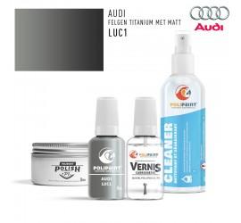 LUC1 FELGEN TITANIUM MET MATT Audi