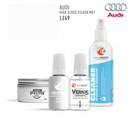 LZ49 HIGH GLOSS FELGEN MET Audi