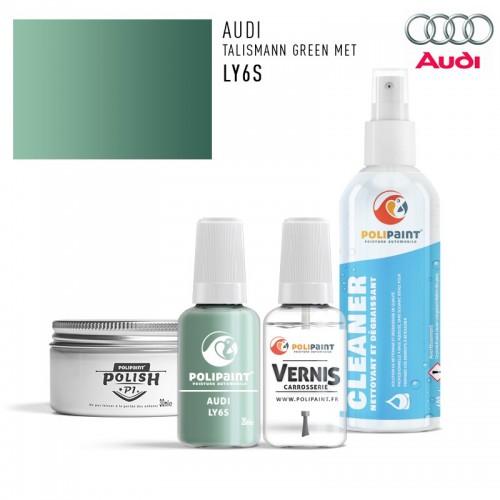 Stylo Retouche Audi LY6S TALISMANN GREEN MET