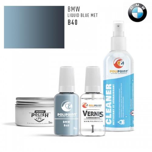 Stylo Retouche BMW B40 LIQUID BLUE MET