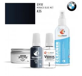A35 MONACO BLUE MET BMW