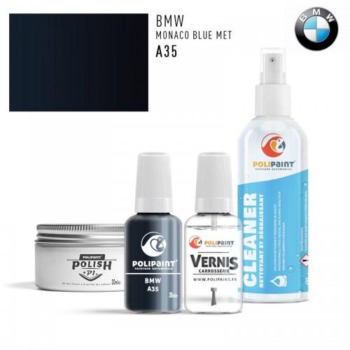 Stylo Retouche BMW A35 MONACO BLUE MET