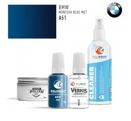A51 MONTEGO BLUE MET BMW