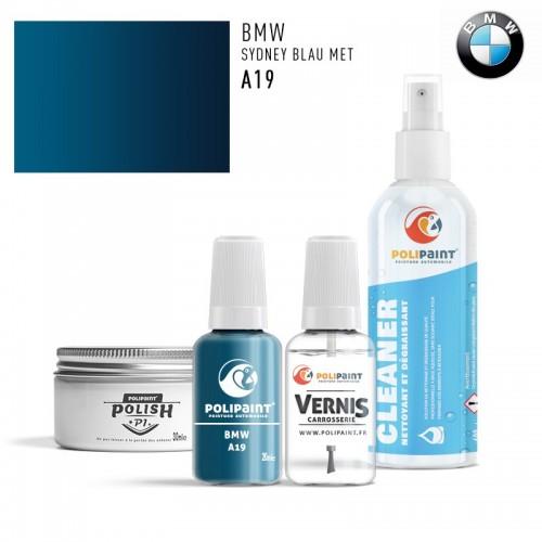 Stylo Retouche BMW A19 SYDNEY BLAU MET