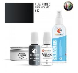 632 BLACK MICA MET Alfa Romeo