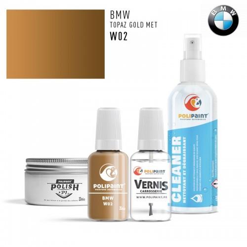 Stylo Retouche BMW W02 TOPAZ GOLD MET