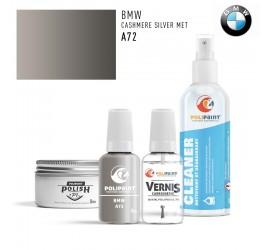 A72 CASHMERE SILVER MET BMW