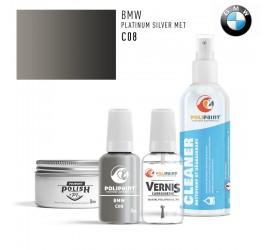 C08 PLATINUM SILVER MET BMW