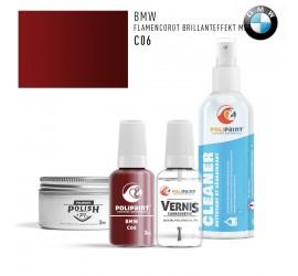 C06 FLAMENCOROT BRILLANTEFFEKT MET BMW