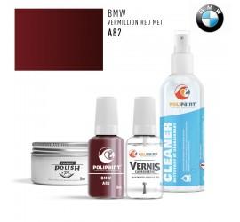 A82 VERMILLION RED MET BMW