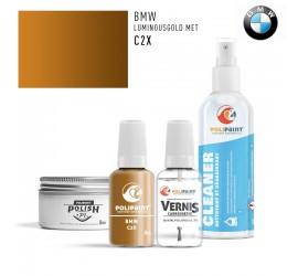 C2X LUMINOUSGOLD MET BMW