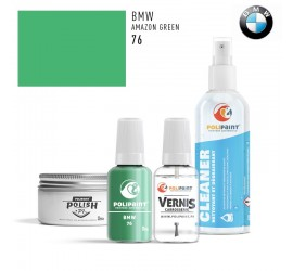 76 AMAZON GREEN BMW