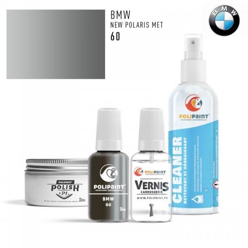 Stylo Retouche BMW 60 NEW POLARIS MET