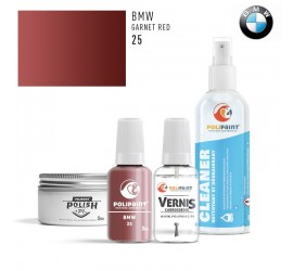 25 GARNET RED BMW