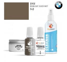 F43 MOONLIGHT SILVER MATT BMW