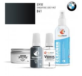 B41 SINGAPORE GREY MET BMW