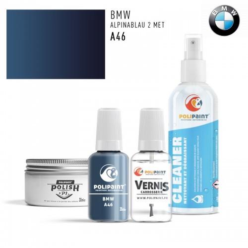 Stylo Retouche BMW A46 ALPINABLAU 2 MET