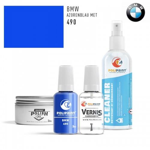 Stylo Retouche BMW 490 AZORENBLAU MET